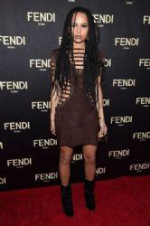 Zoë Kravitz - Fendi Celebrates the Opening of New York Flagship Store