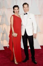 Benedict Cumberbatch and Sophie Hunter: 87th Annual Academy Awards 2015