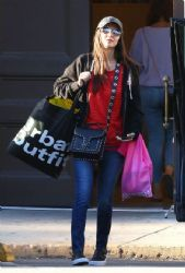 Victoria Justice: Shops At Urban Outfitters in Studio City 3/5/ 2017