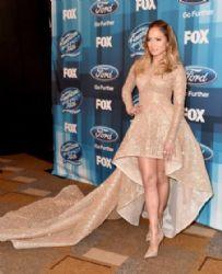 Jennifer Lopez attends FOX's