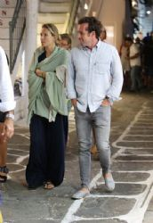 Vicky Kaya and Ilias Krassas: Mykonos look