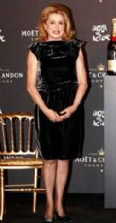 Catherine Deneuve at the Moet & Chandon Benefit
