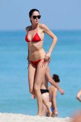 Nicole Trunfio: raised temperatures in Miami