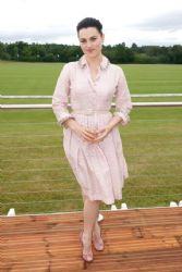 Katie McGrath attends Audi Polo Challenge - Day 2 on May 31, 2015