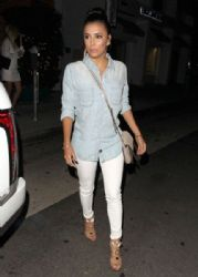 Eva Longoria dines out with her young relatives at Mr Chow Restaurant