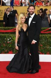Joanne Froggatt and James Cannon: 21st Annual Screen Actors Guild Awards - Arrivals