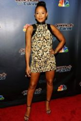 Mel B wears Gucci - America's Got Talent Post Show Red Carpet