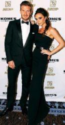 Victoria & David Beckham at the 2012 Latin Music Awards