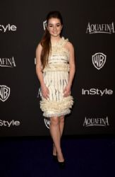 Kaitlyn Dever: InStyle And Warner Bros. Golden Globes 2015 Party