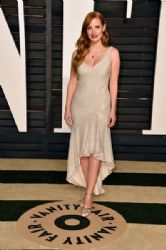Jessica Chastain: Elton John AIDS Foundation Oscars 2015 Viewing Party