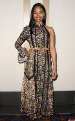 Zoe Saldana in Louis Vuitton - 'Infinitely Polar Bear' LA premiere