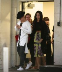 Selena Gomez & Justin Bieber Leaving The Arclight Cinemas in Los Angeles, CA. (June 20)