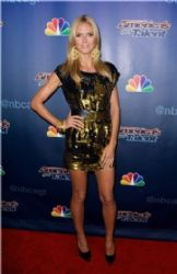 Heidi Klum wears Zaldig & Voltaire - America's Got Talent