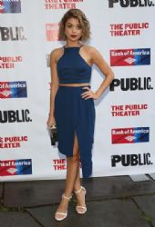 Sarah Hyland attends The Public Theater's Opening Night Of