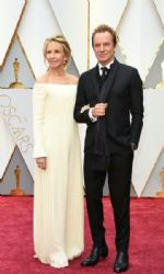 Sting and Trudie Styler: 89th Annual Academy Awards - Arrivals