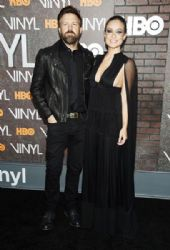 Jason Sudeikis and Olivia Wilde : 'Vinyl' New York Premiere