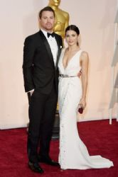 Channing Tatum and Jenna Dewan Tatum: 87th Annual Academy Awards 2015