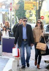 Tatiana Stefanidou and Nikos Evangelatos: shopping morning