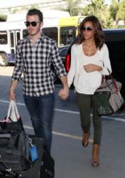 Kevin and Danielle Depart LAX