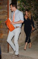 Blake Lively and Ryan Reynolds:dinner time in Barcelona