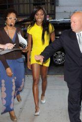 Venus Williams: visit to CBS Studios in New York City