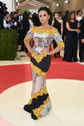 Demi Lovato: 'Manus x Machina: Fashion In An Age of Technology' Costume Institute Gala - Arrivals