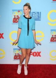 "Heather Morris: ""Glee"" converged on Paramount Studios in Los Angeles for a Season 4 viewing party"