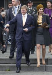 Willem-Alexander and Queen Maxima of The Netherlands Attend 200 Year Kingdom Celebrations