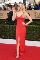 Sophie Turner wears Louis VuittonDress : 23rd Annual Screen Actors Guild Awards