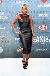 Mary J. Blige wears KLS - 2015 SpikeTV' Guys Choice Awards