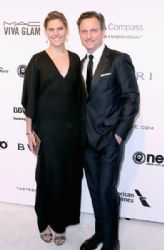 Tony Goldwyn and Jane Musky: 25th Annual Elton John AIDS Foundation's Oscar Viewing Party - Arrivals