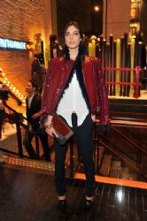 Jacquelyn Jablonski: out for the Tommy Hilfiger & GQ Celebrate Men of New York event at the 5th Avenue Flagship