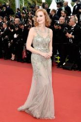 Jessica Chastain: 'Money Monster' - Red Carpet Arrivals - The 69th Annual Cannes Film Festival