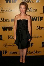 Kristen Bell wears Alberta Ferretti - Woman In Film 2014 Crystal + Lucy Awards