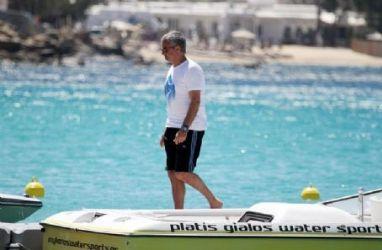 José Mourinho: island look
