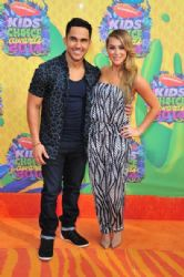 Alexa PenaVega and Carlos Pena: Nickelodeon's 27th Annual Kids' Choice Awards - Red Carpet