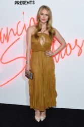 Leven Rambin wears Salvatore Ferragamo at Ferragamo presents: Gancio Studios, Celebrating 100 years in Hollywood