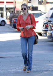 Monet Mazur seen running in some errands in Beverly Hills, CA on January 25, 2012
