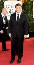 Nathan Fillion: arrives at the 70th Annual Golden Globe Awards held at The Beverly Hilton Hotel