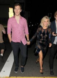Julianne Hough: attend the 'Dancing With The Stars' finale after party at Beso Restaurant in Hollywood