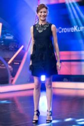Olga Kurylenko  Attends 'El Hormiguero' Tv Show