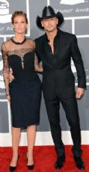 Tim McGraw and Faith Hill: The 55th Annual GRAMMY Awards