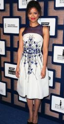 Gugu Mbatha Raw attends the 8th Annual ESSENCE Black Women In Hollywood Luncheon