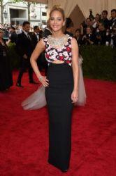 Jennifer Lawrence wears Christian Dior - 2015 Met Gala