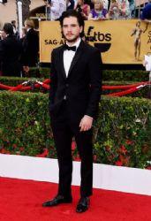Kit Harington: 21st Annual Screen Actors Guild Awards - Arrivals