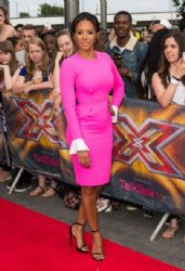 Mel B wears Roksanda Ilincic - X Factor Wembley Arena Auditions