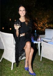 Luli Fernández: night out