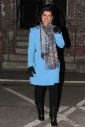Nelly Furtado: leaving the 'TV total' taping at the TV total Studio in Cologne