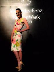 Karin Ontiveros: Mercedes Benz Fashion Week Mexico 2015