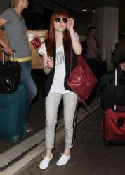 Carly Rae Jepsen arrived at LAX airport in Los Angeles